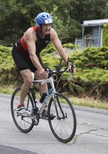 Padden Triathlon, bike leg, 2014